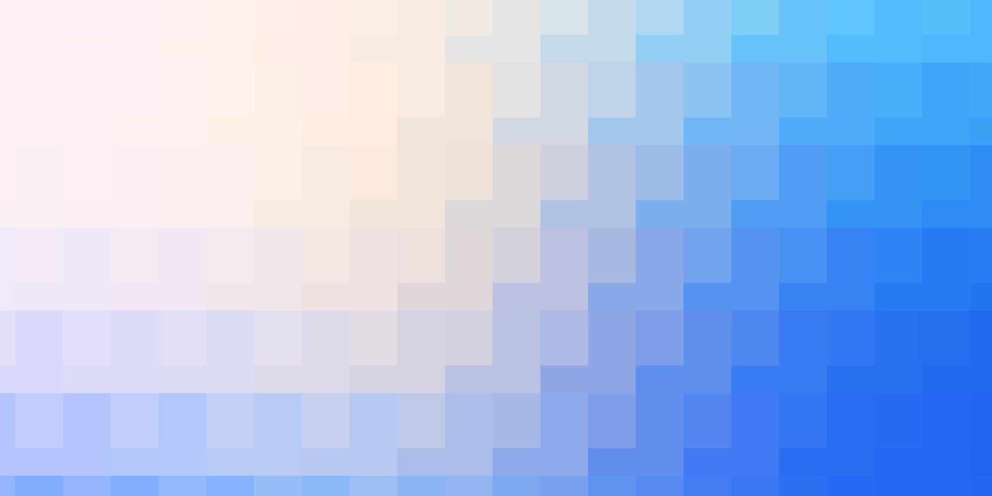 ljusrosa, blå vektormall med rektanglar. vektor