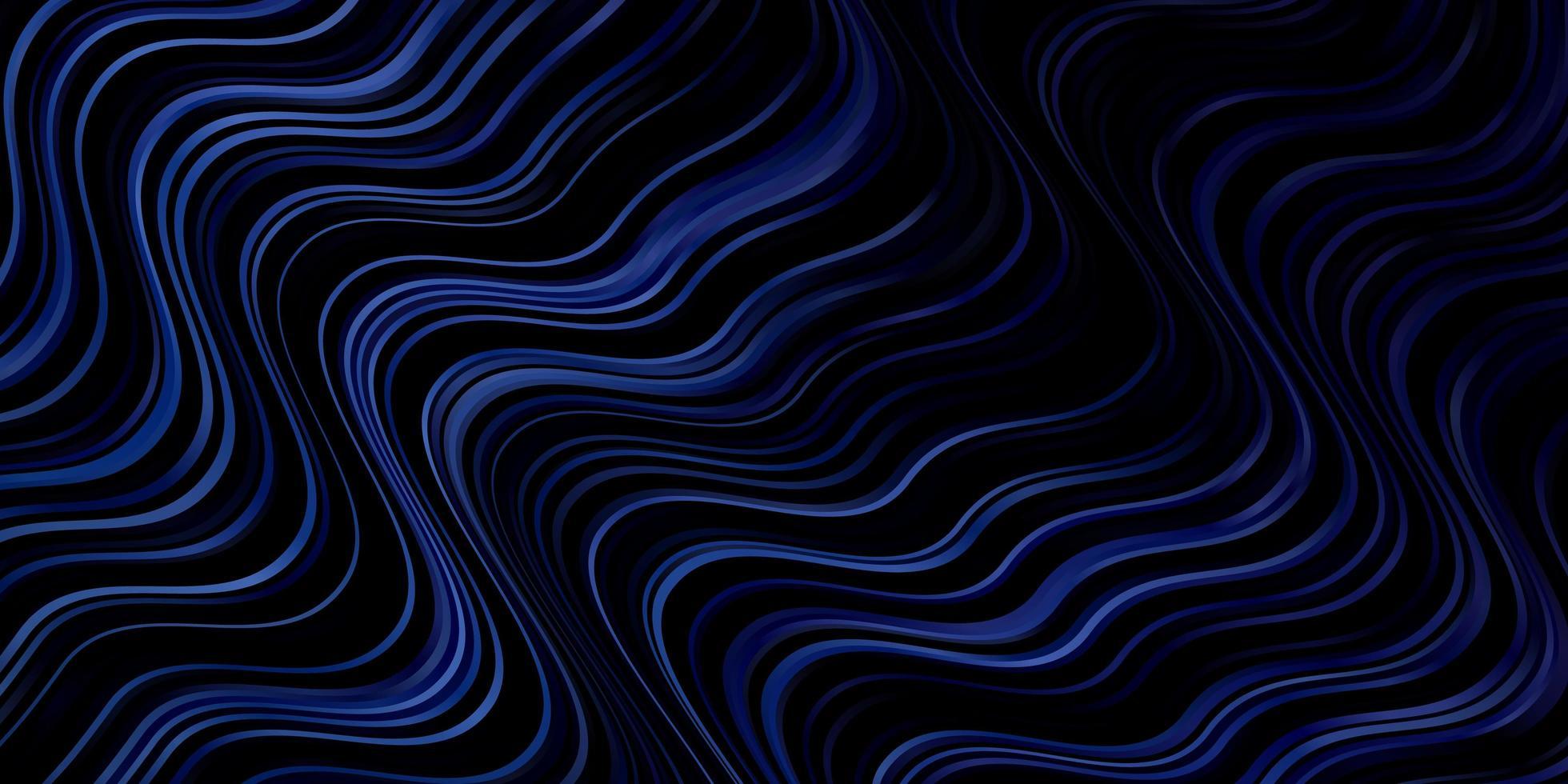 mörkblå vektormönster med sneda linjer vektor