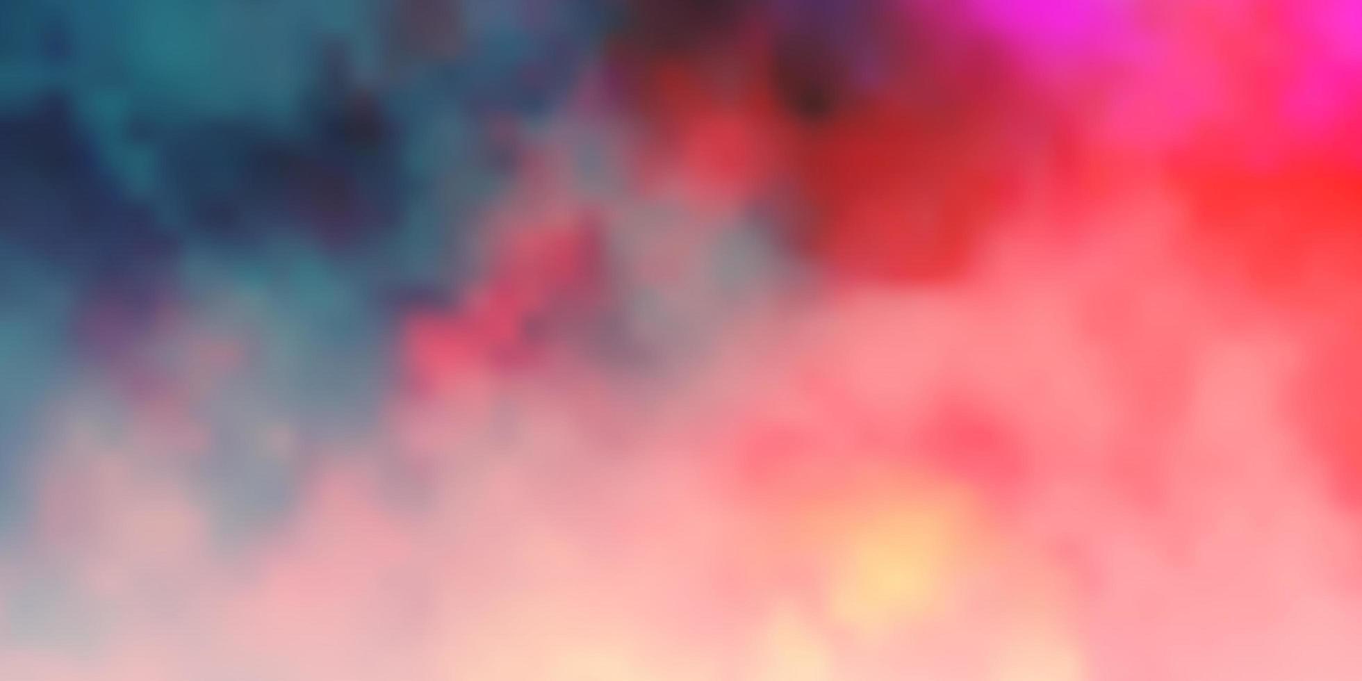 mörk röd vektor bakgrund med cumulus.