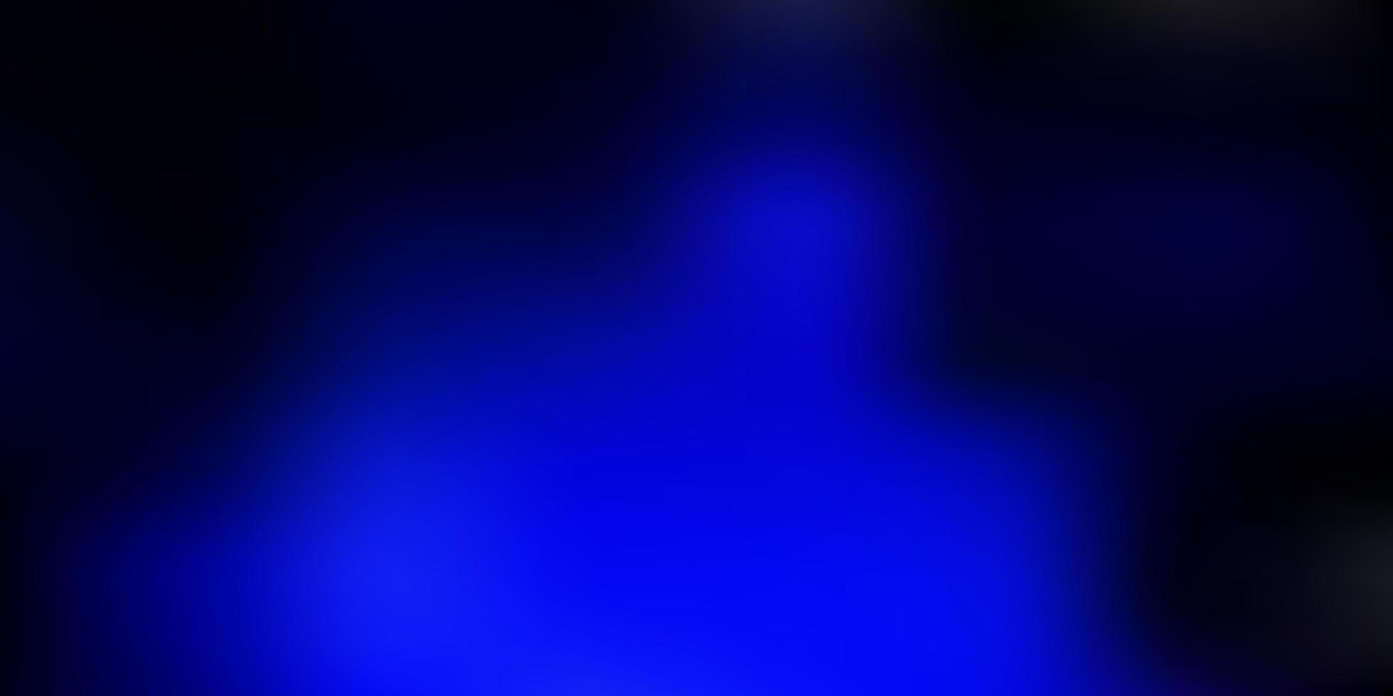 mörkblå vektor abstrakt oskärpa mall.