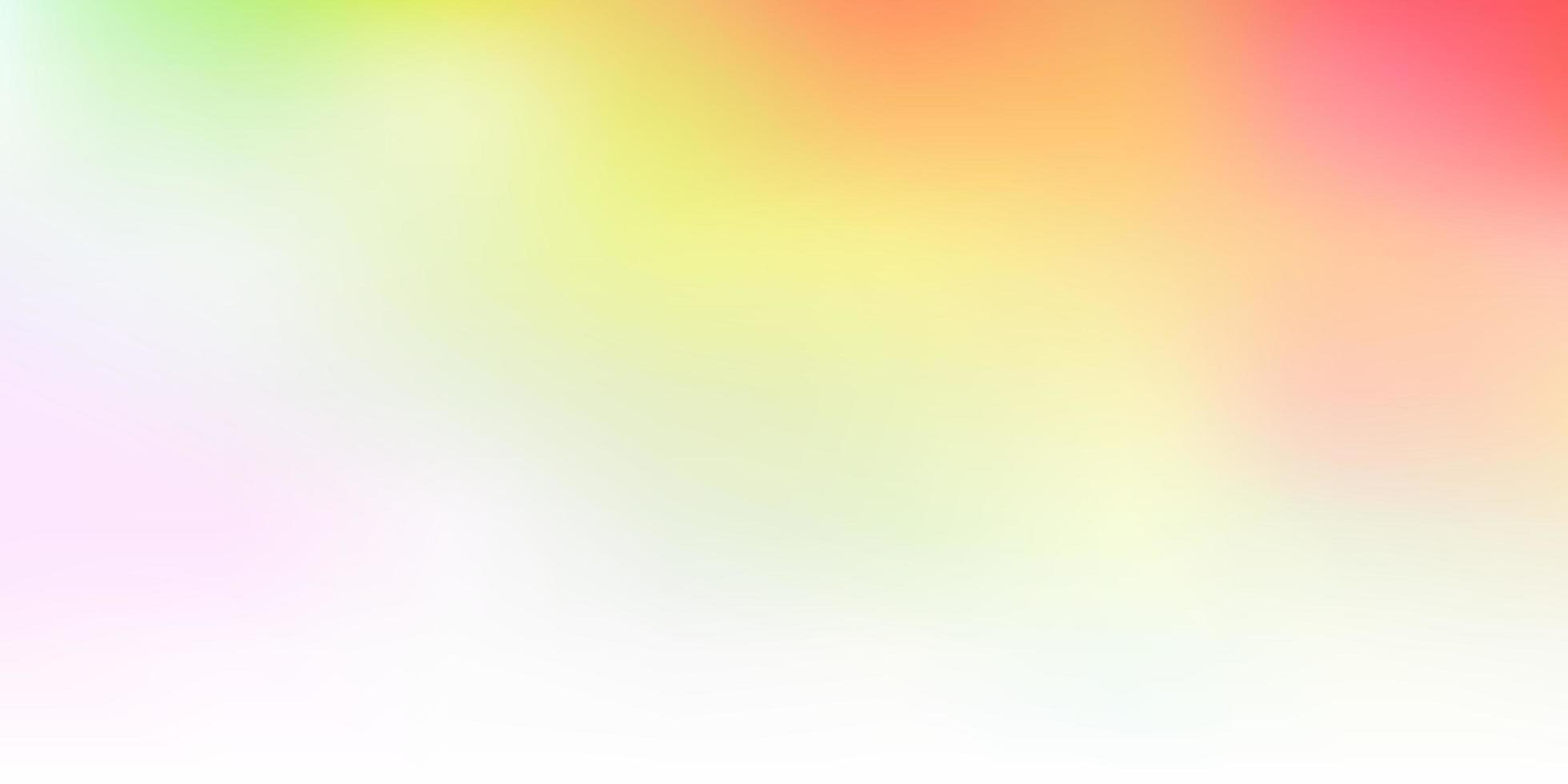 Licht mehrfarbige Vektor abstrakte Unschärfe Layout.