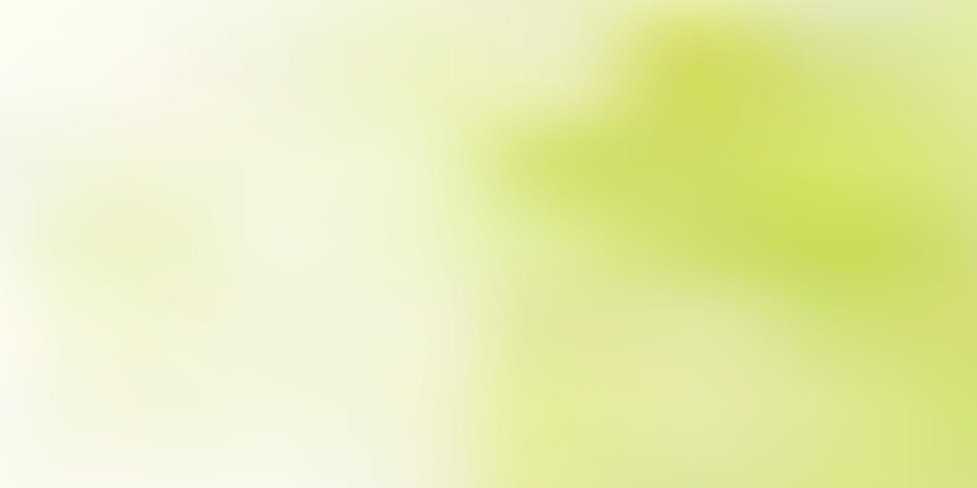 ljusgrön vektor gradient oskärpa bakgrund.