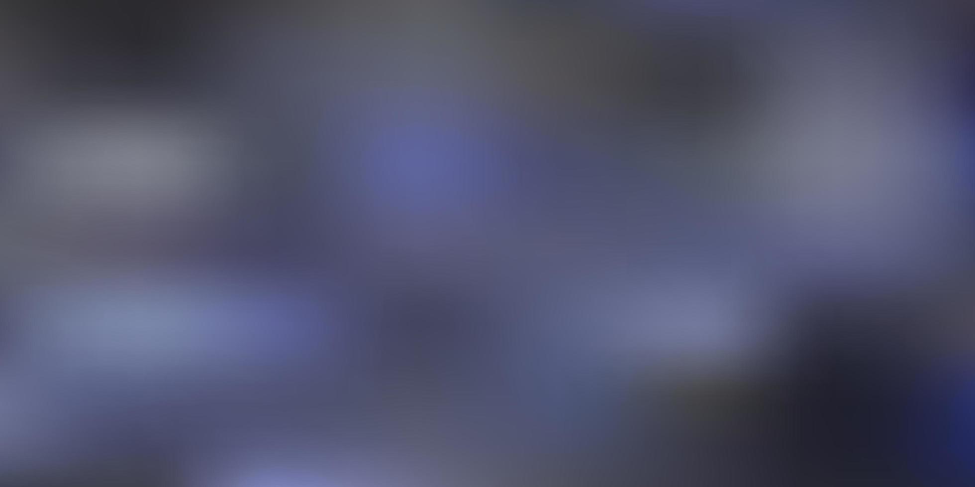 mörkblå vektor gradient oskärpa layout.