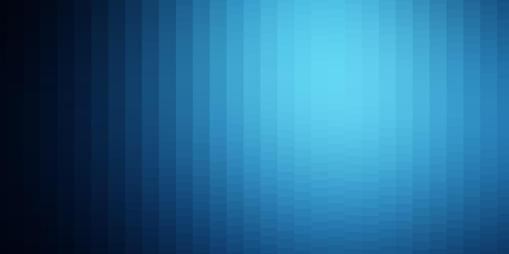 dunkelblaues Vektormuster im quadratischen Stil. vektor