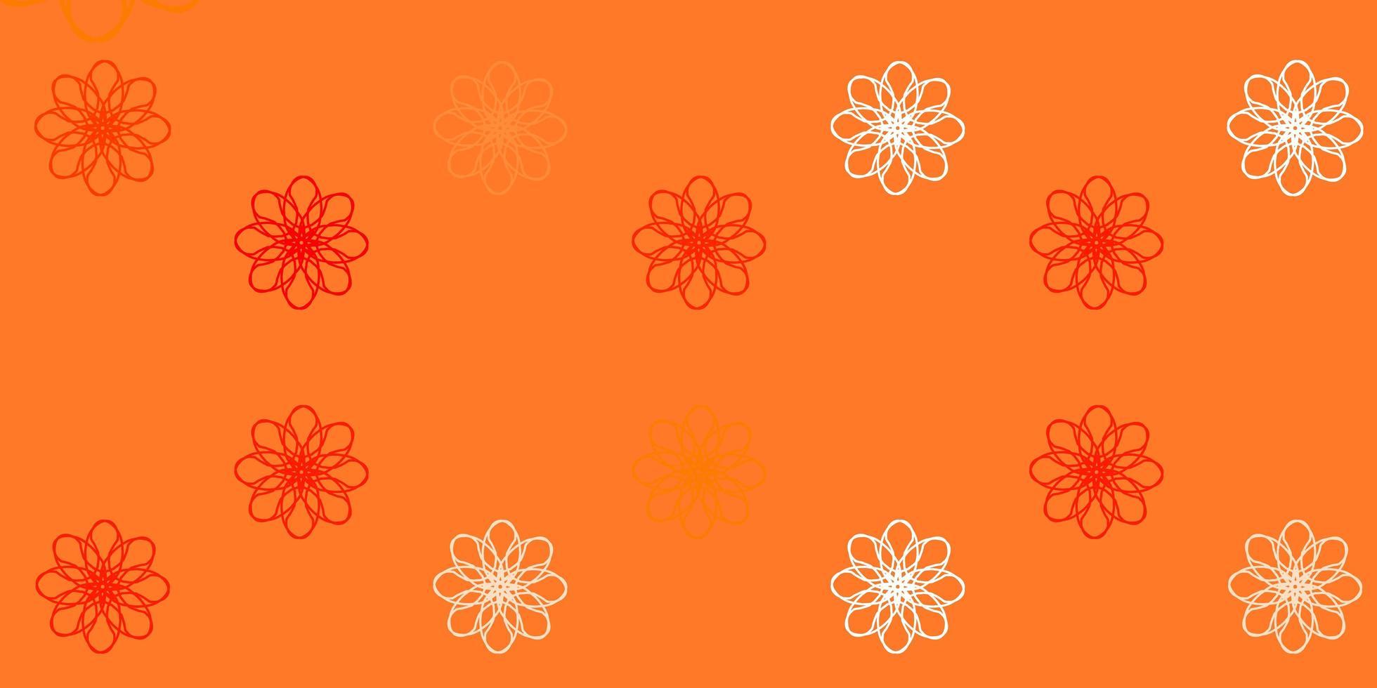 hellroter Vektorhintergrund mit trockenen Linien. vektor