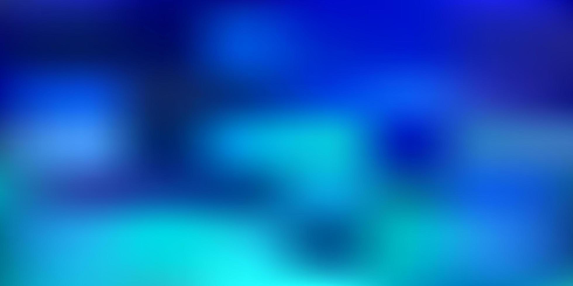 hellblaues Vektorunschärfemuster. vektor
