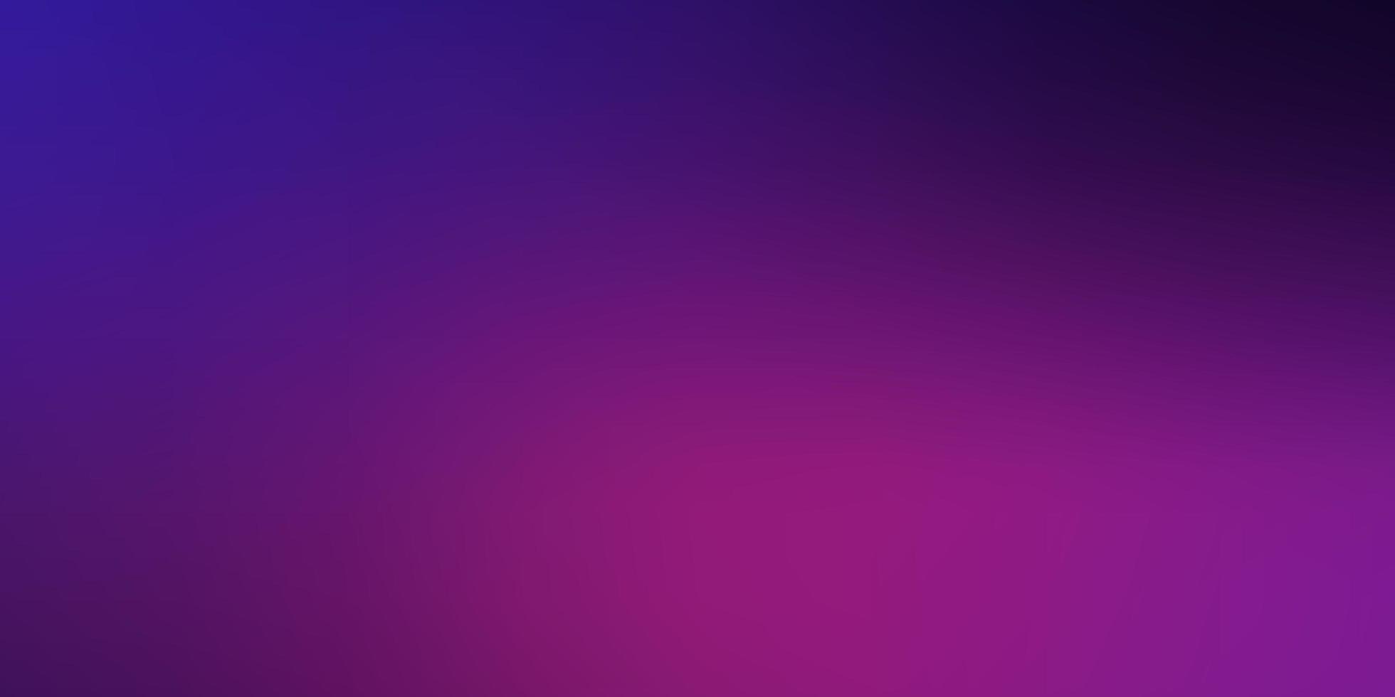 dunkelviolettes, rosa Vektor verschwommenes Muster.