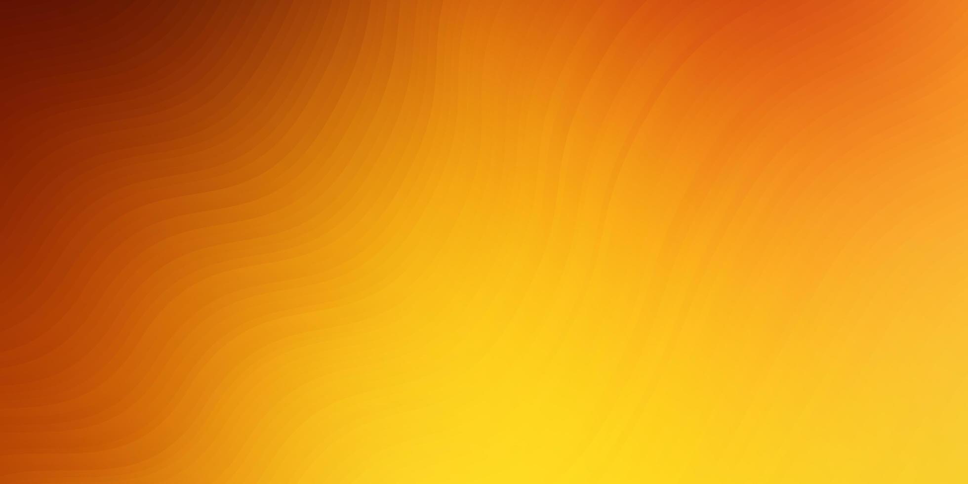 hellorange Vektorschablone mit trockenen Linien. vektor