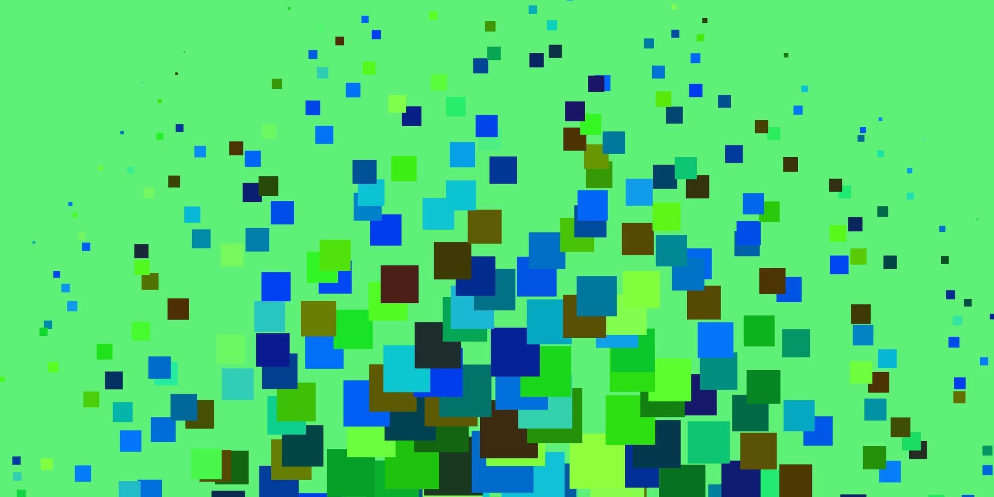 ljus flerfärgad vektorbakgrund med rektanglar. vektor