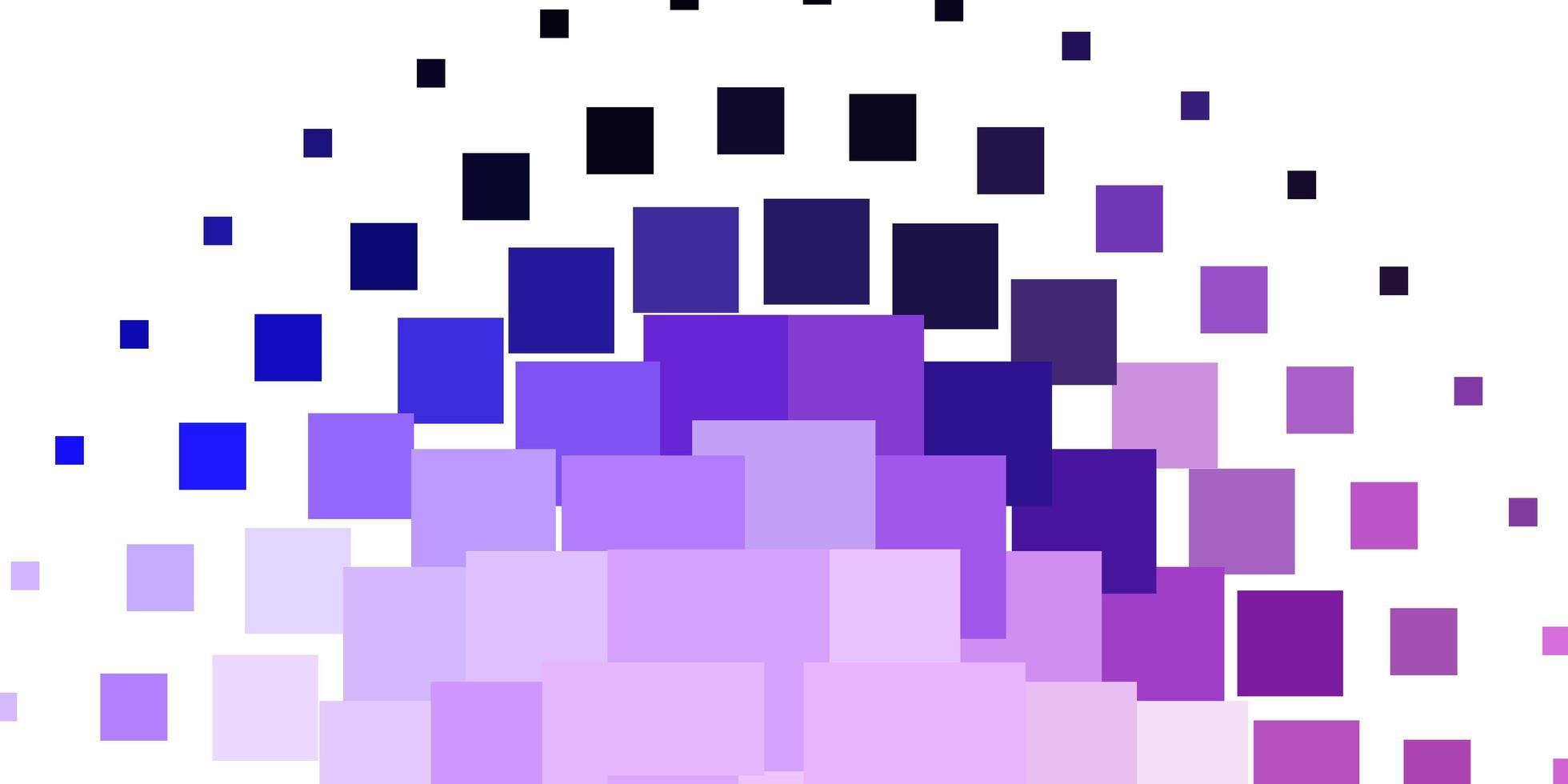 hellviolettes Vektorlayout mit Linien, Rechtecken. vektor