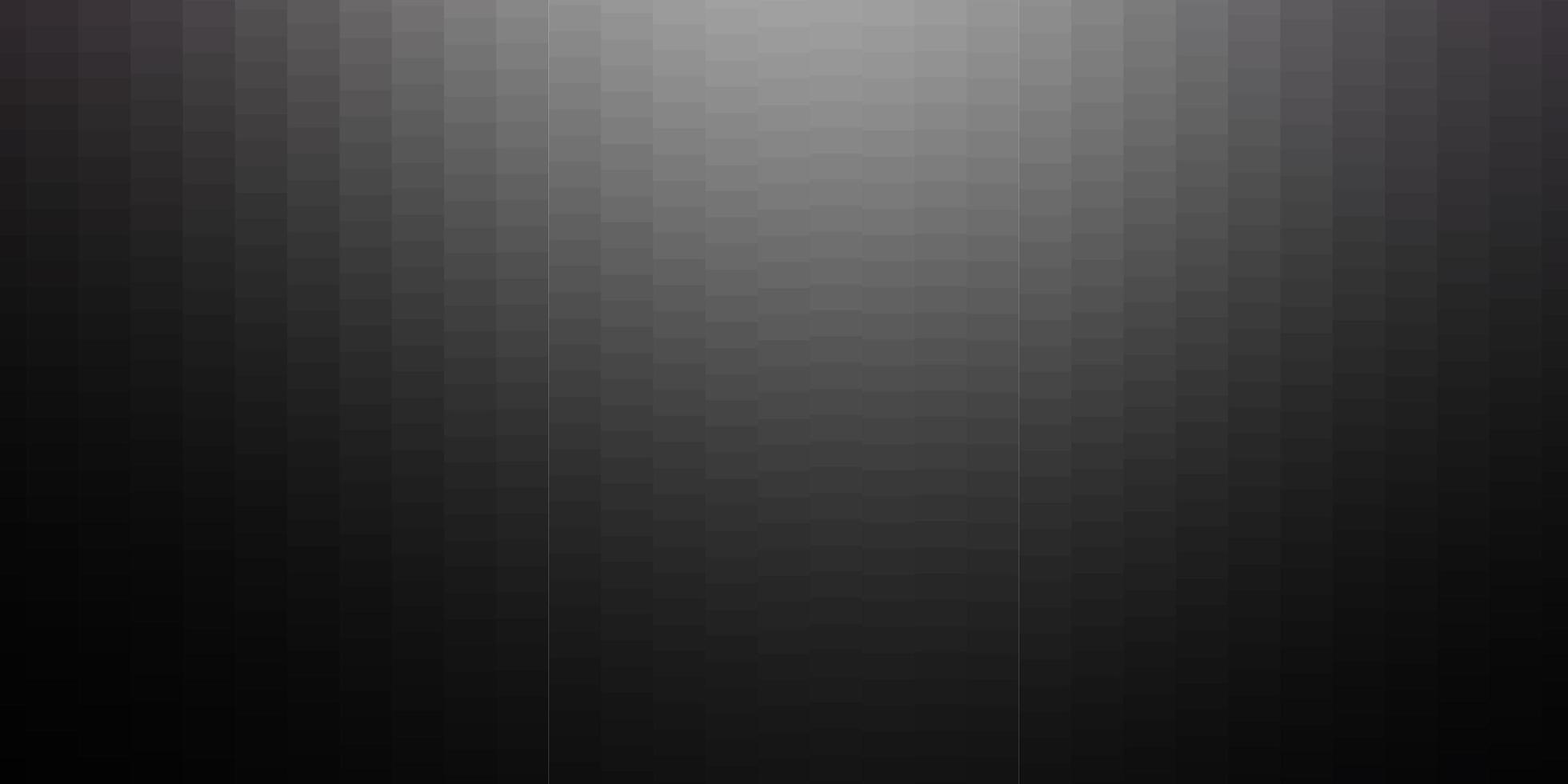 dunkelgrauer Vektorhintergrund im polygonalen Stil. vektor