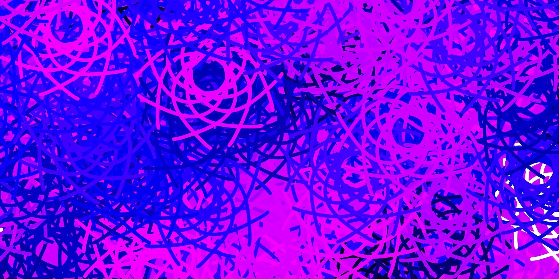 ljuslila, rosa vektormall med abstrakta former. vektor