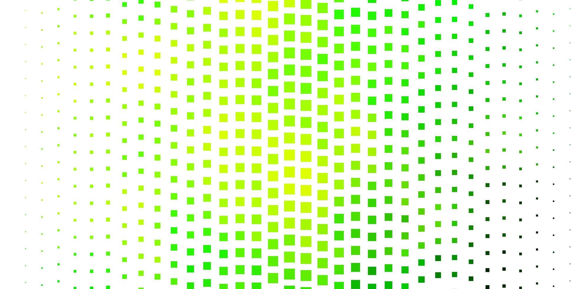 hellgrüne, gelbe Vektorbeschaffenheit im rechteckigen Stil. vektor
