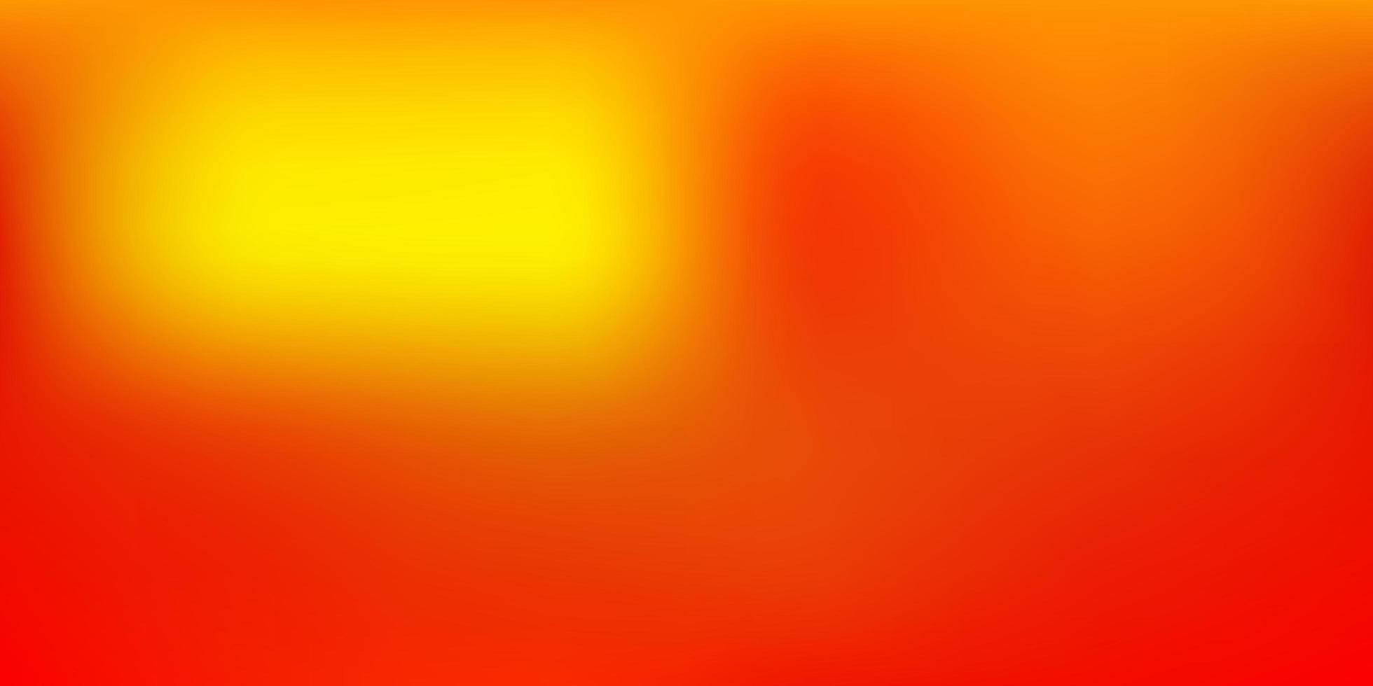 mörk gul vektor suddig bakgrund.