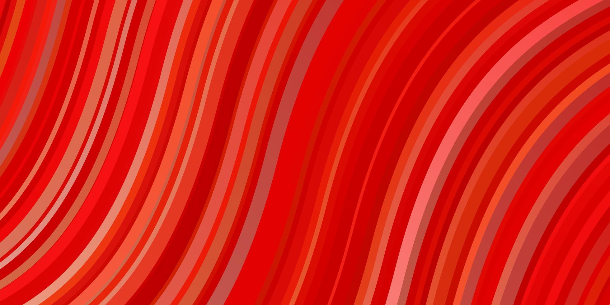 hellrotes, gelbes Vektorlayout mit schiefen Linien. vektor