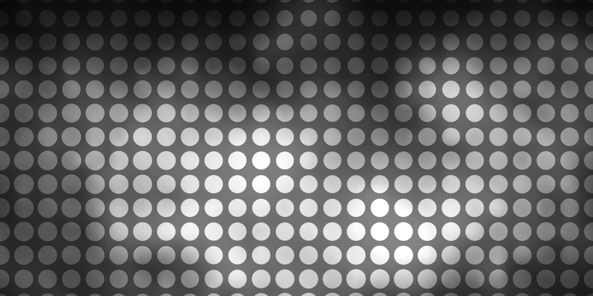 hellgrauer Vektorhintergrund mit Kreisen. vektor