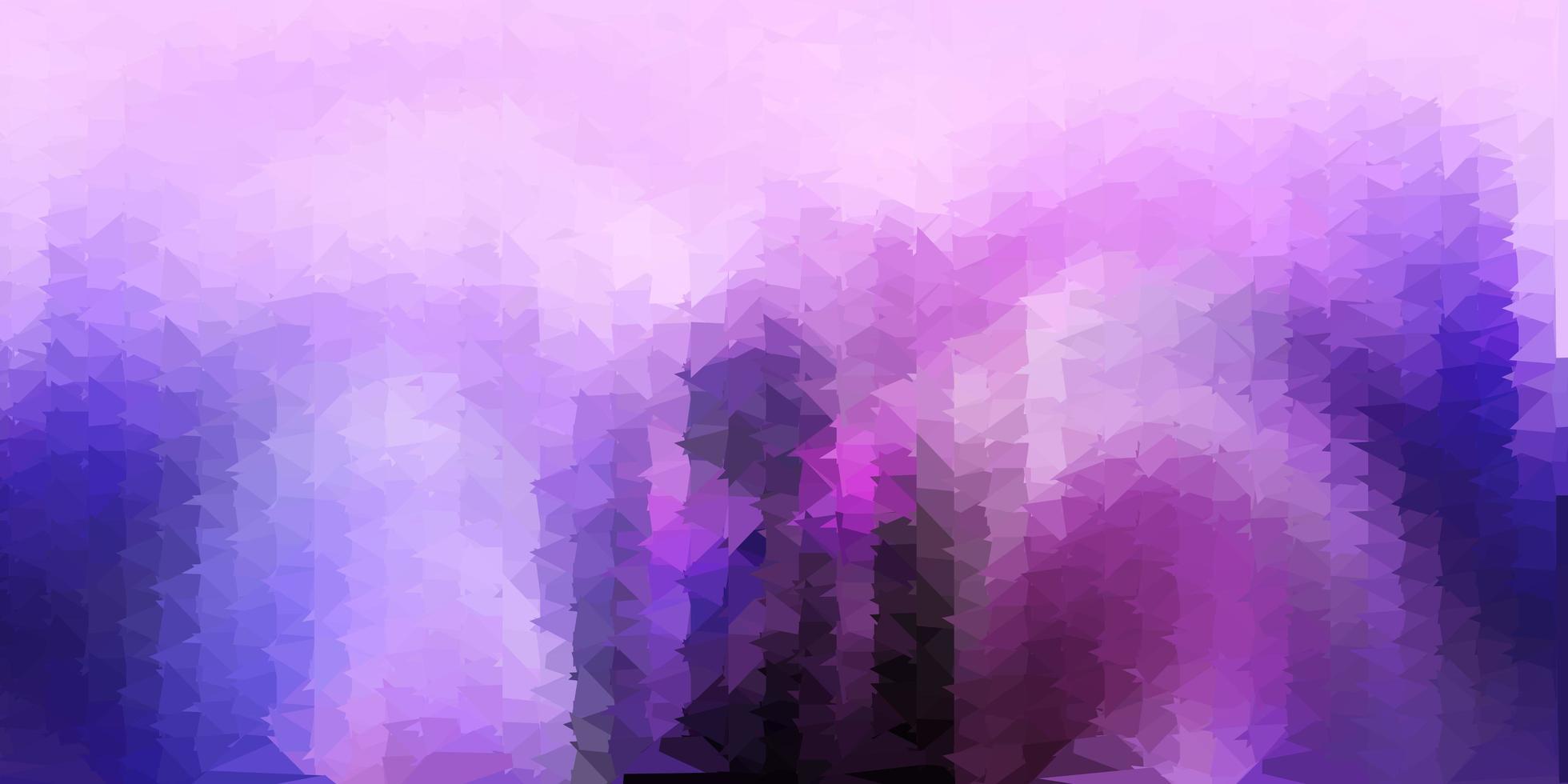 geometrisches polygonales Layout des hellvioletten Vektors. vektor
