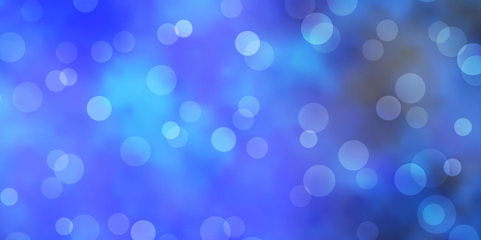 hellblauer Vektorhintergrund mit Flecken. vektor
