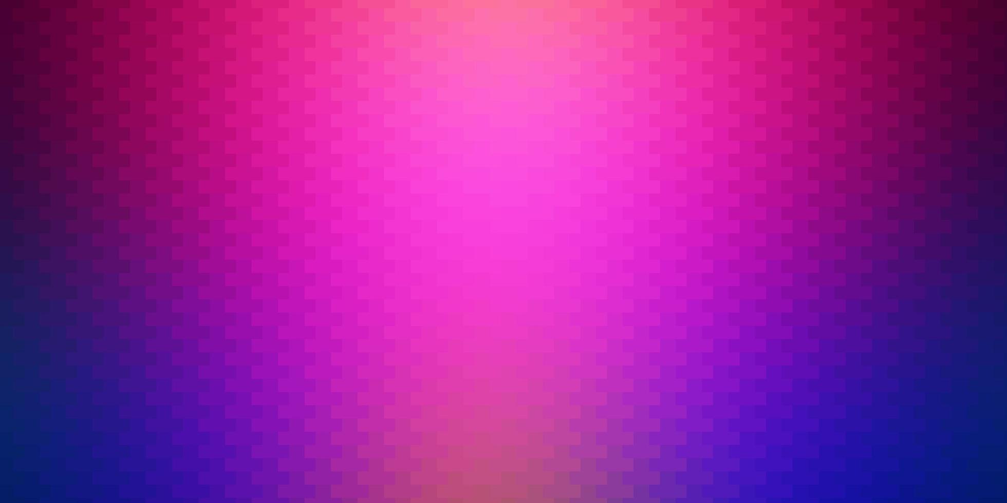 dunkles mehrfarbiges Vektorlayout mit Linien, Rechtecken. vektor