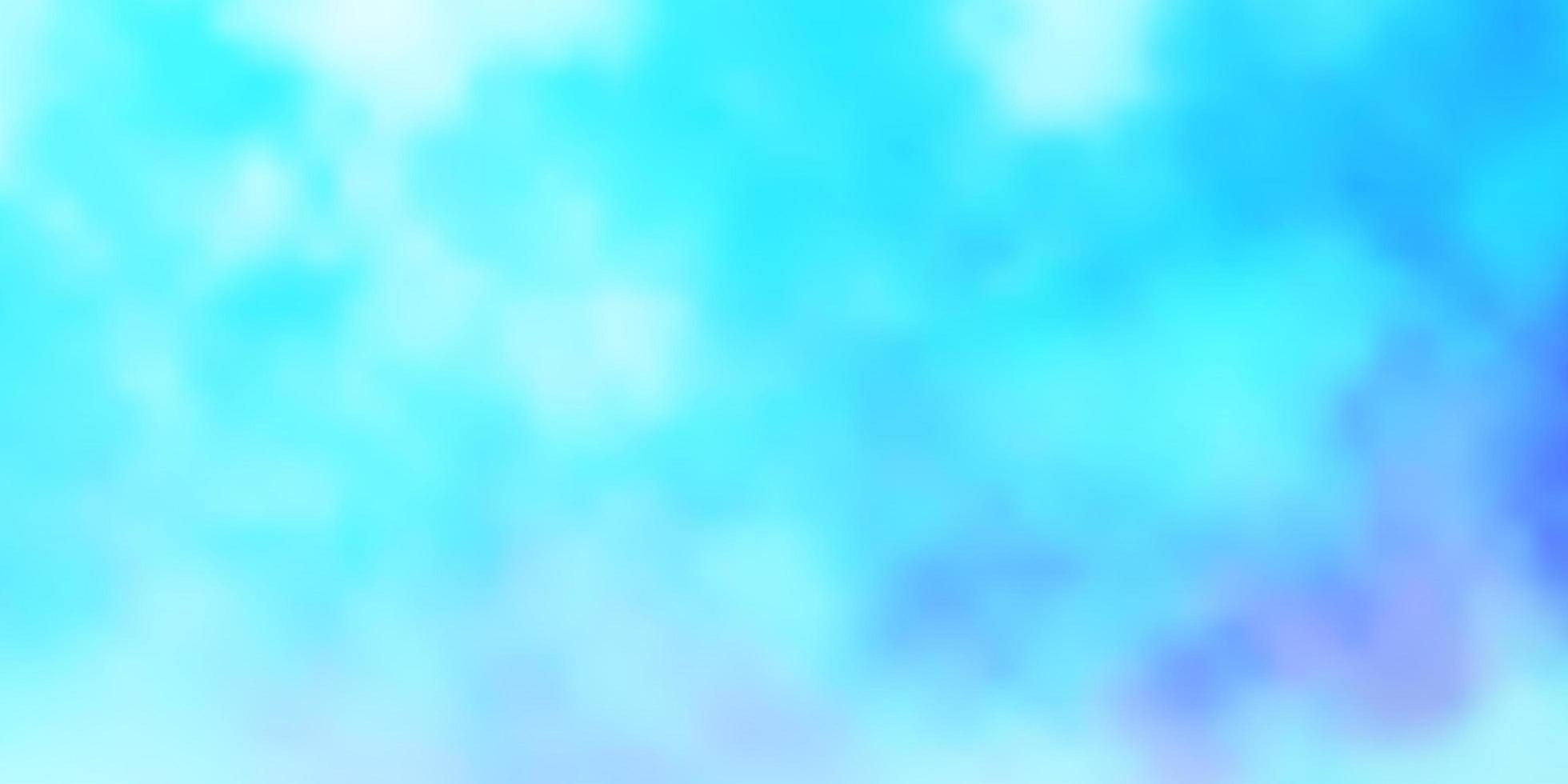 ljusblå vektor bakgrund med moln.