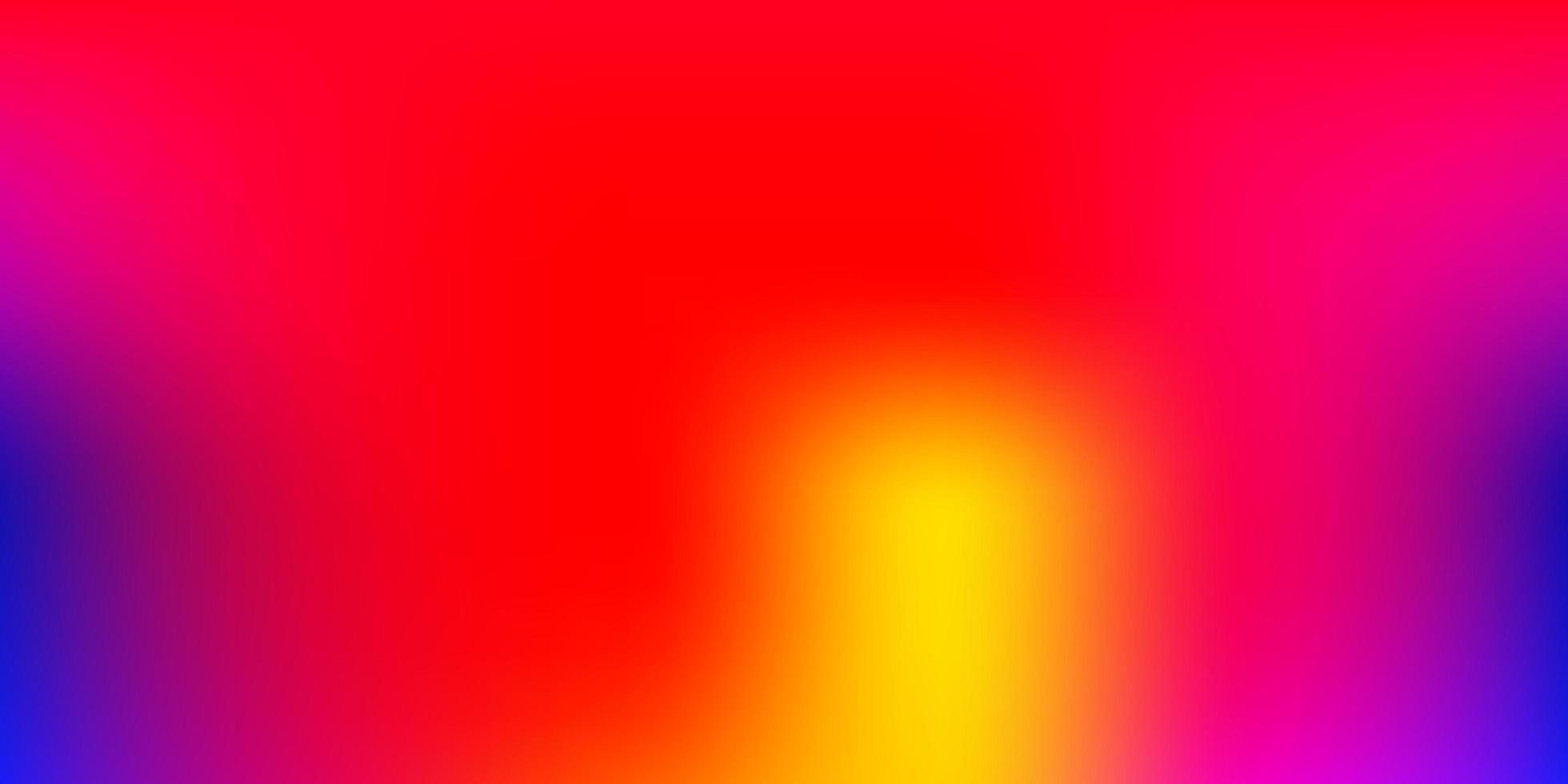 ljusröd, gul vektor abstrakt oskärpa ritning.