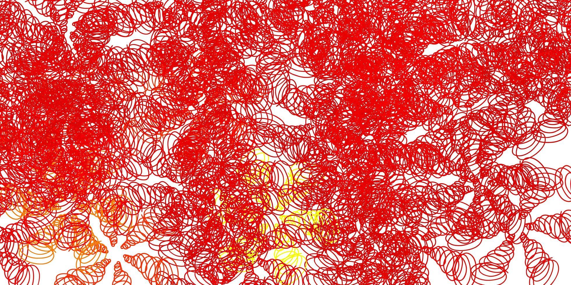ljusgrön, röd vektorbakgrund med bågar. vektor