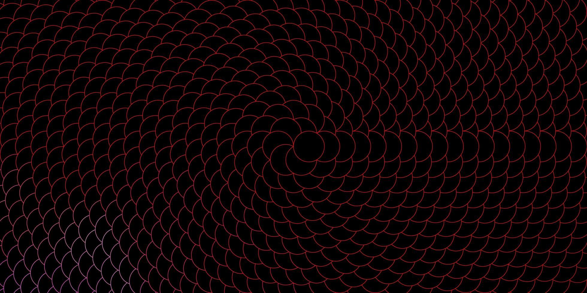 dunkelrosa, gelbe Vektorbeschaffenheit mit Scheiben. vektor