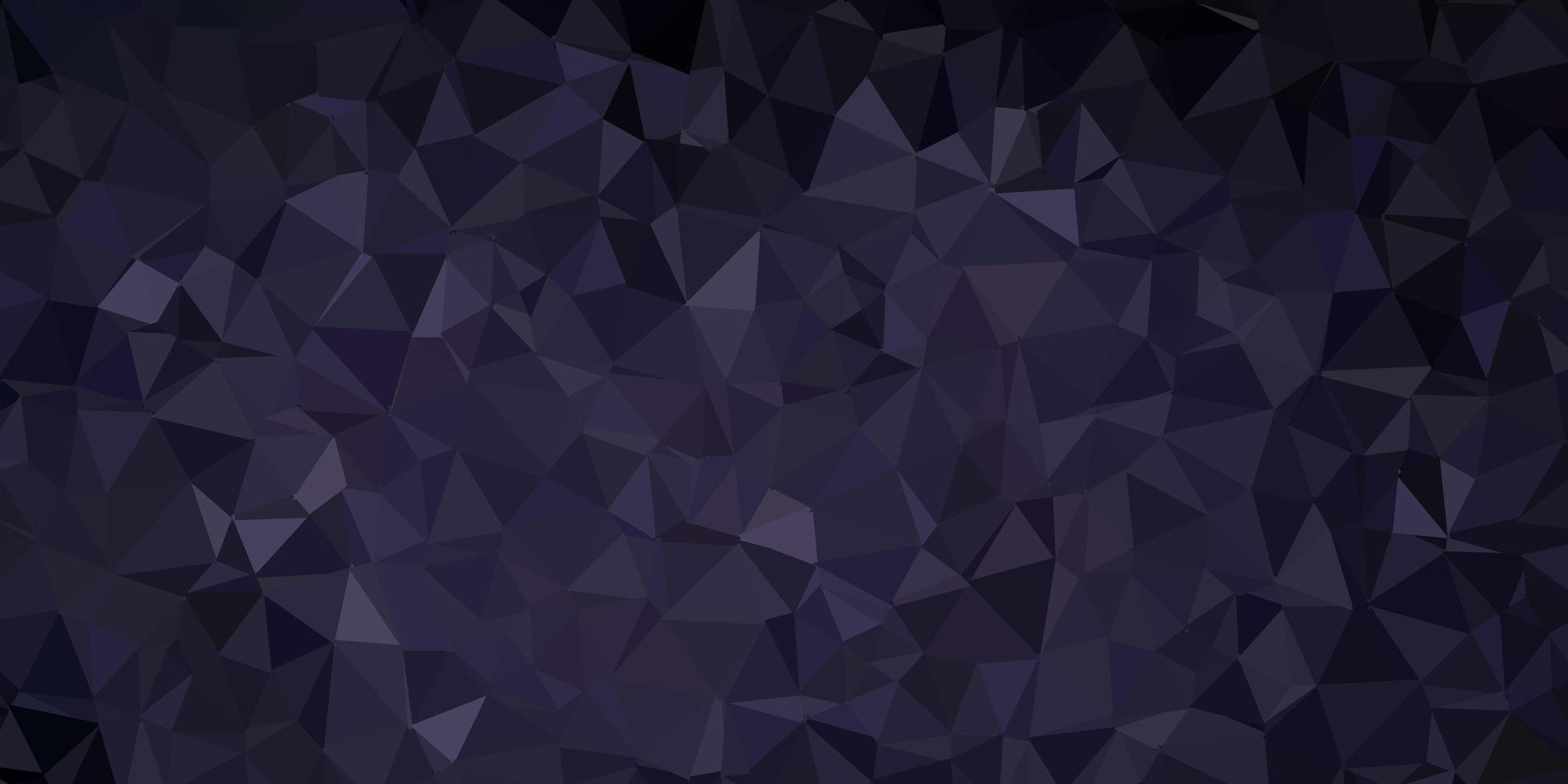 mörkgrå vektor poly triangel layout.