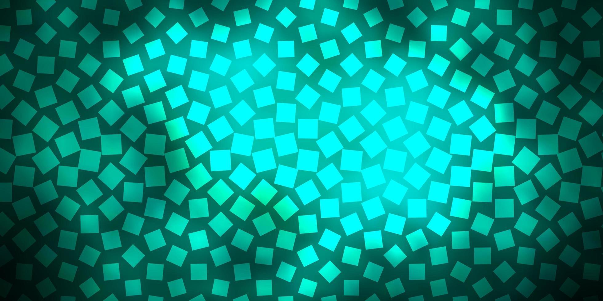 dunkelgrünes Vektorlayout mit Linien, Rechtecken. vektor