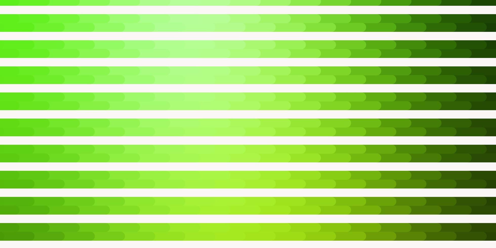 hellgrüner Vektorhintergrund mit Linien. vektor