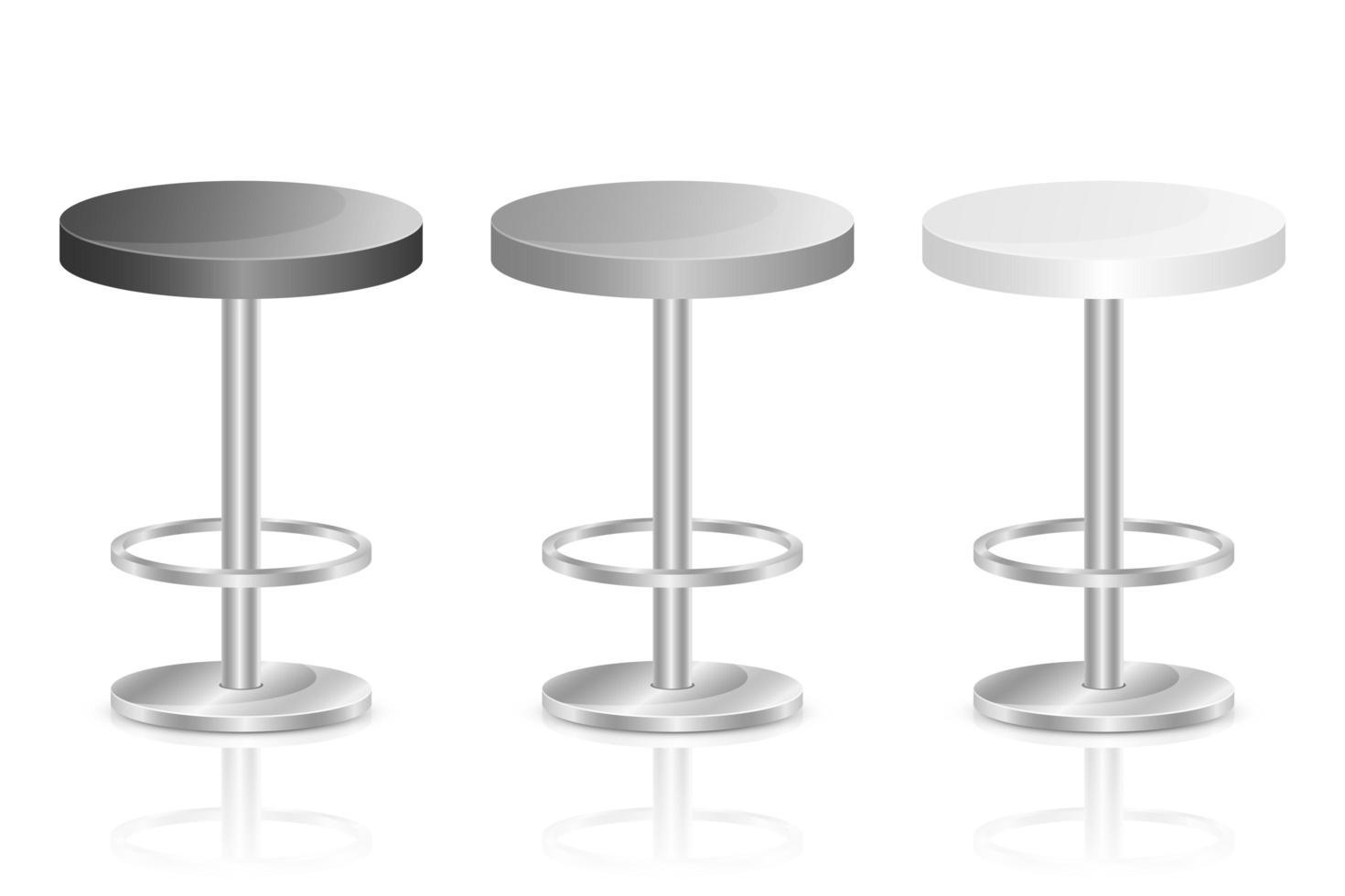 bar stol vektor design illustration isolerad på vit bakgrund