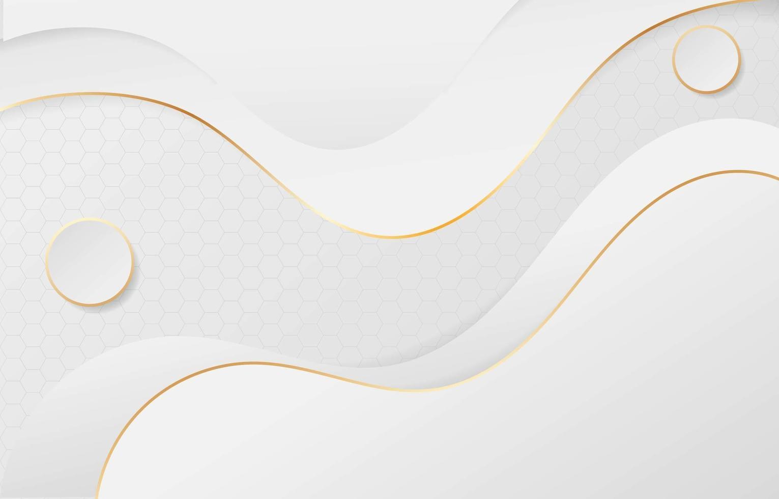 weißer Hintergrund Papercut-Stil vektor