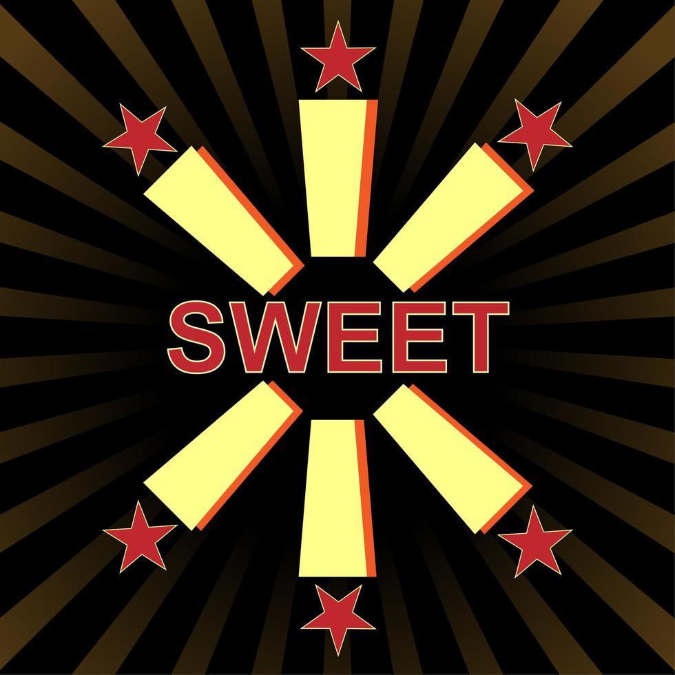 typografi slogan vintage med söta för t-shirt utskrift, grafisk tee. vektor illustration