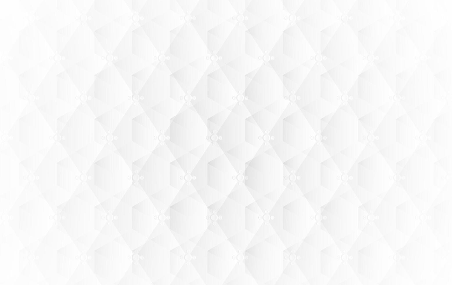 abstrakt vit kubisk bakgrund vektor
