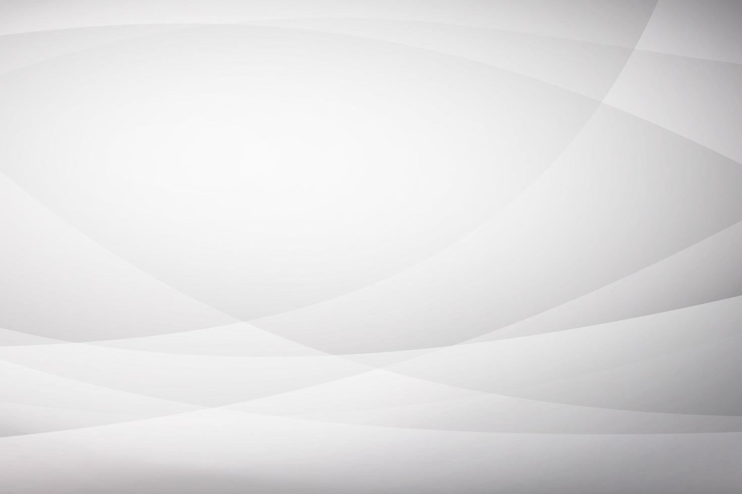 abstrakt vit kurvbakgrund vektor