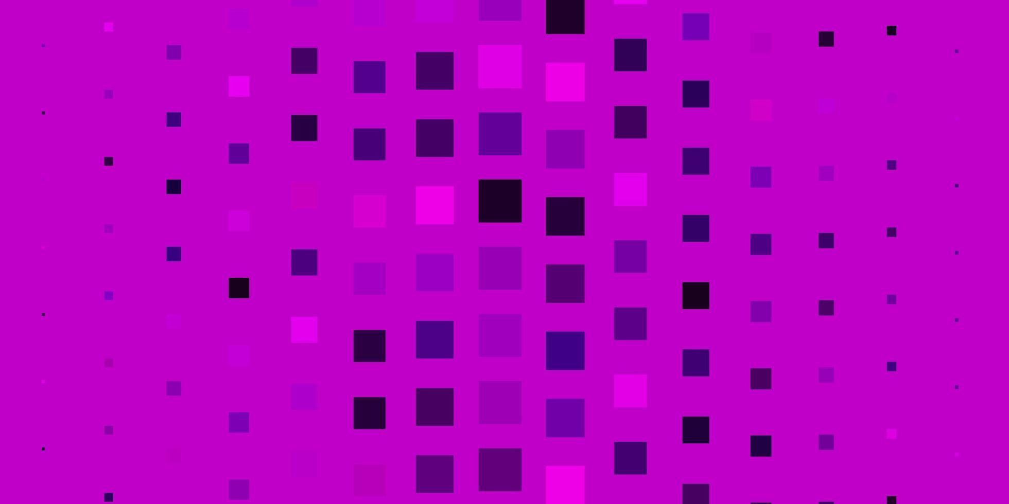 hellrosa Vektormuster im quadratischen Stil. vektor