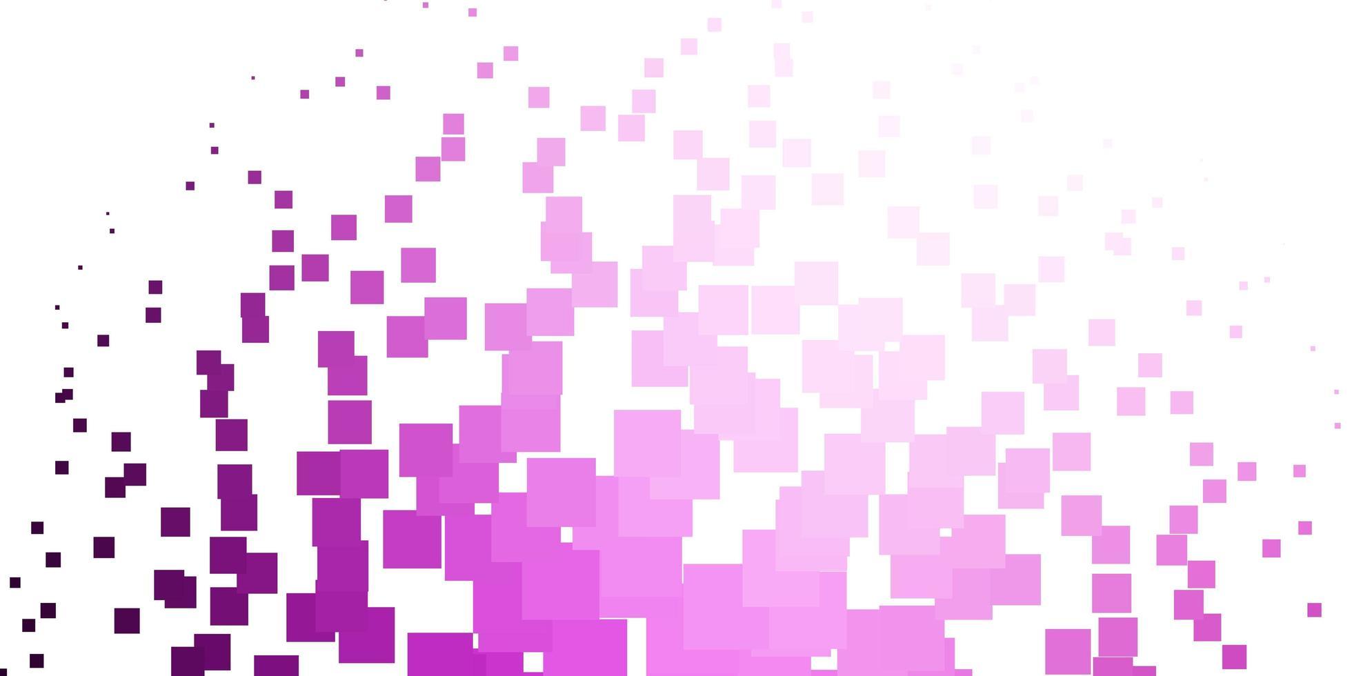 ljusrosa vektormönster i fyrkantig stil. vektor
