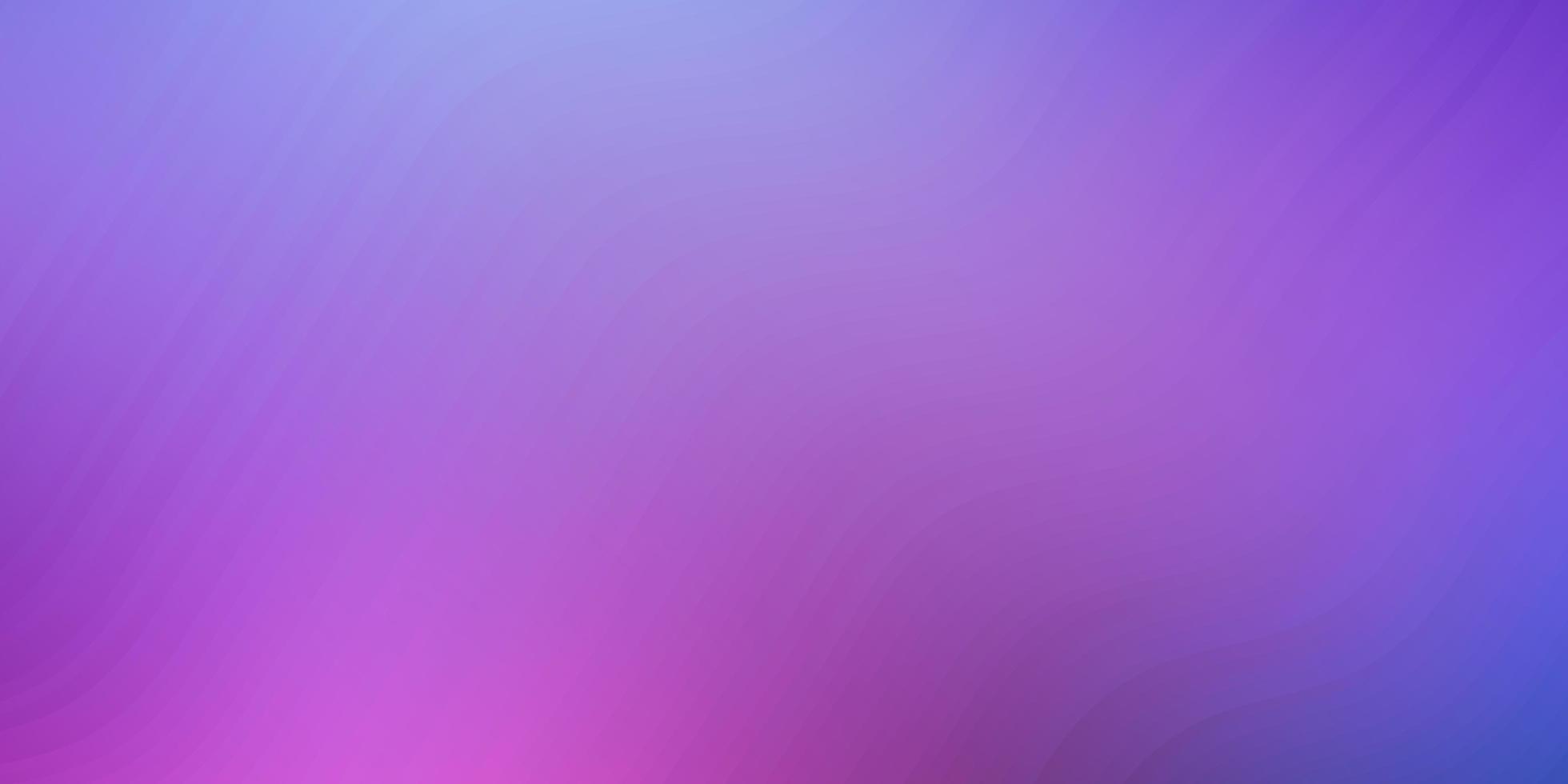 dunkelrosa, blaues Vektorlayout mit schiefen Linien vektor