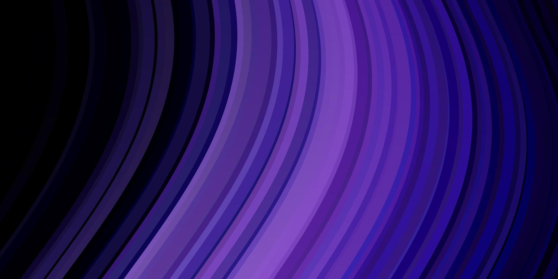 dunkelvioletter Vektorhintergrund mit Linien. vektor