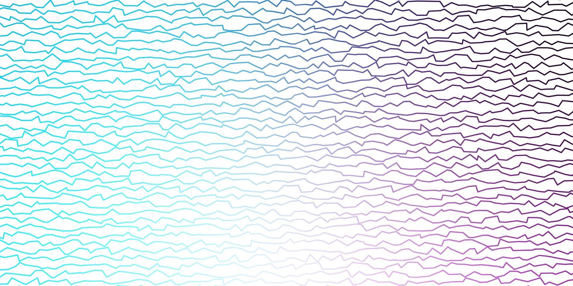 mörkrosa, blå vektorlayout med sneda linjer vektor