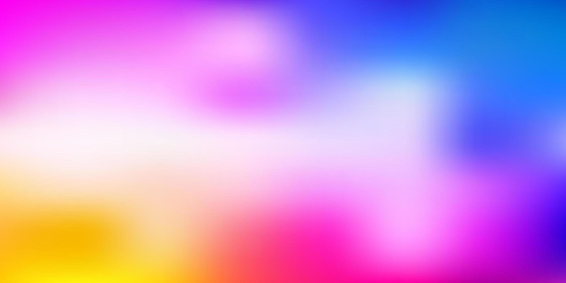 hellrosa, blauer Vektor abstrakter Unschärfehintergrund.