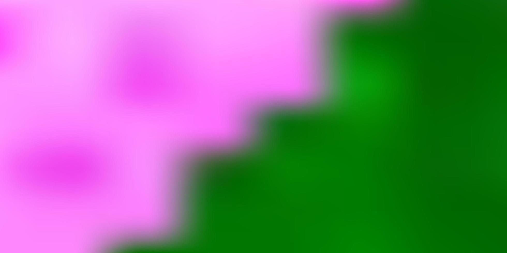 hellgrüne Vektor-Gradienten-Unschärfe-Schablone. vektor