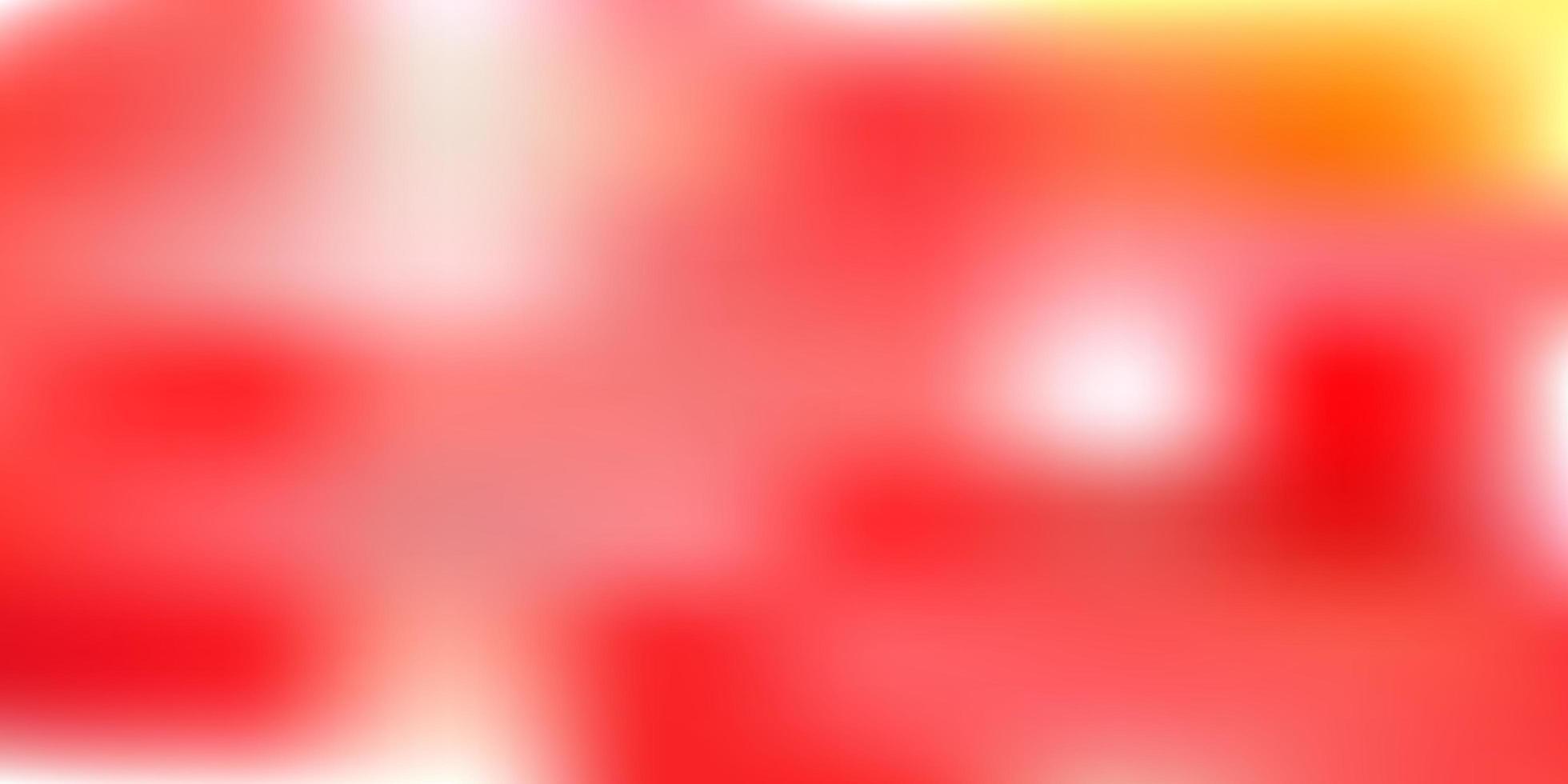 ljus orange vektor suddig layout.