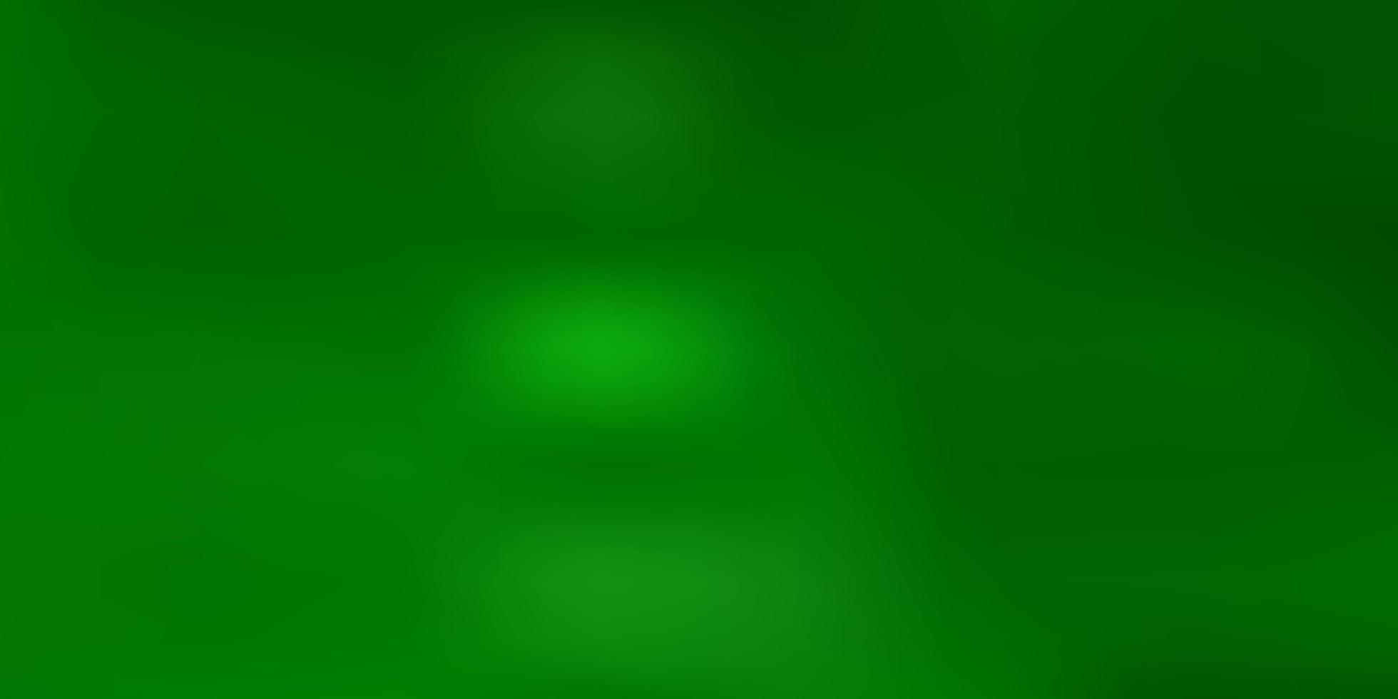 ljusgrön vektor oskärpa bakgrund.