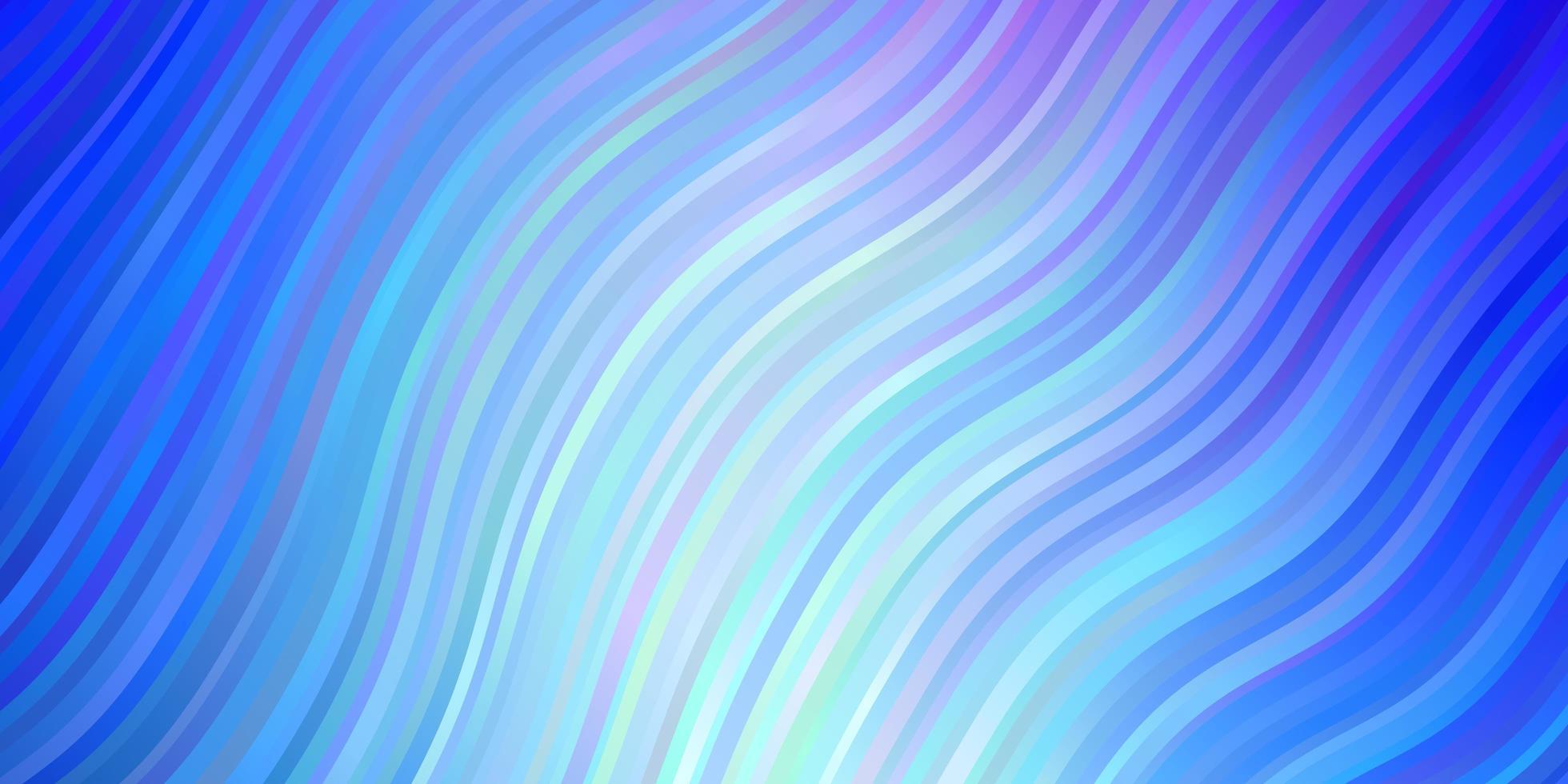 hellrosa, blaues Vektormuster mit schiefen Linien. vektor