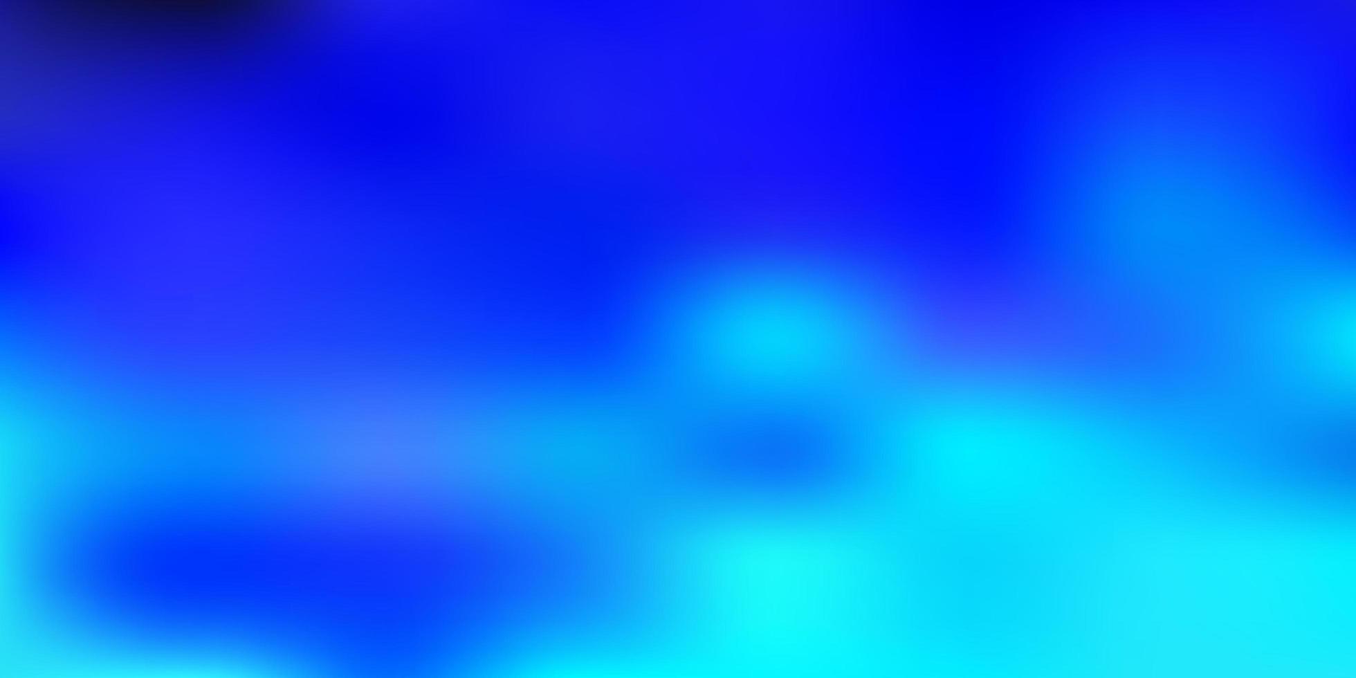 ljusblå vektor oskärpa layout.