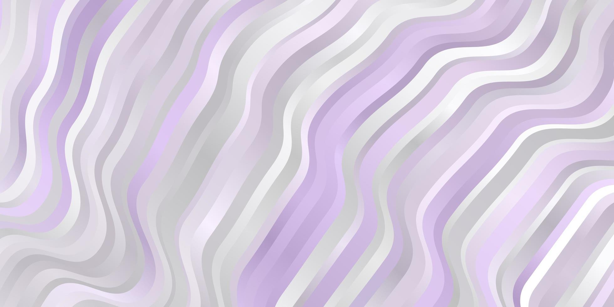 ljuslila vektormall med böjda linjer. vektor