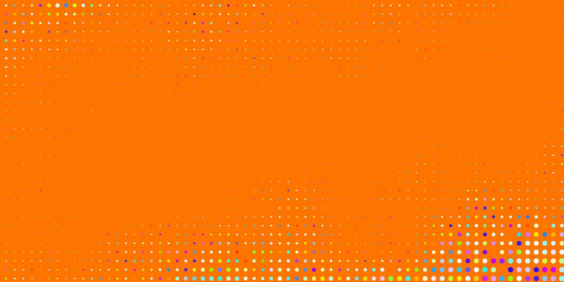 ljus flerfärgad vektorstruktur med skivor. vektor