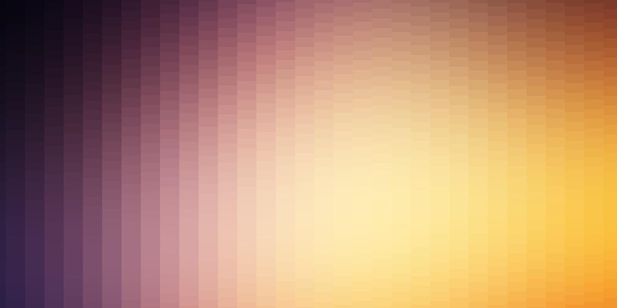 ljusrosa, gul vektorlayout med linjer, rektanglar. vektor