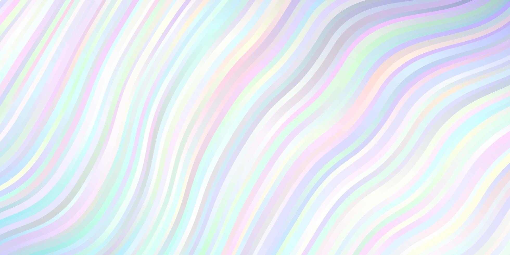 ljusrosa, blå vektormall med linjer. vektor